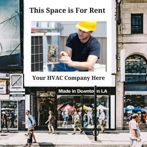 Ad space for rent hvac demo