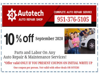 Coupon Autotech Auto Repair