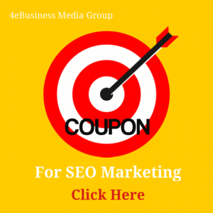 Coupon 4eBusiness Media Group for seo marketing