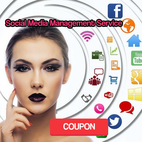 Coupon Social Media Management Service