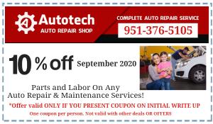 Coupon Autotech September 2020