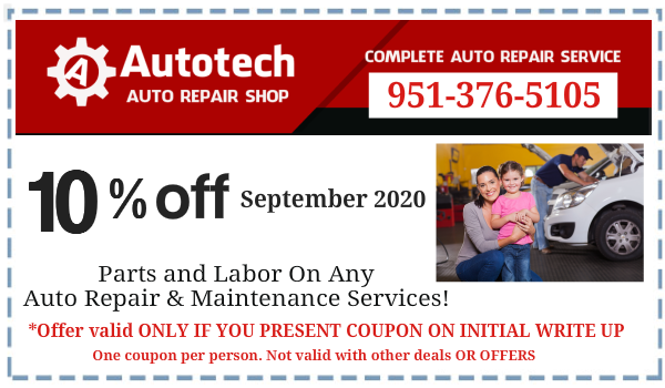 Coupon Autotech September 2020