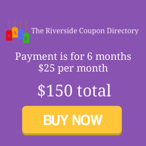 The Riverside Coupon Directory 6 months for 150