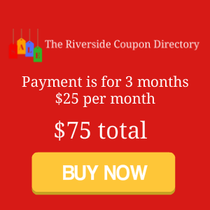 The Riverside Coupon Directory pay button 3 months 75