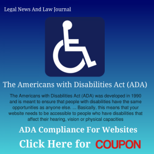 coupon ada Legal News And Law Journal ada compliance